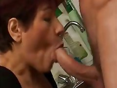 Blowjob Cumshot French Mature