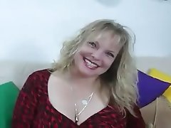 BBW Blonde Cumshot Pornstar