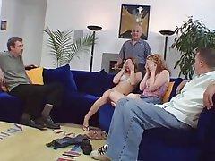 Cuckold, Hardcore, Interracial, Redhead
