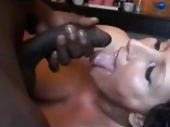 Amateur Brunette Cumshot Interracial