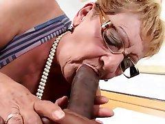 Anal Brazil Cumshot Granny Interracial