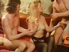 Blowjob Cumshot Hairy Hardcore Threesome