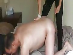 German Interracial Old and Young Swinger Threesome