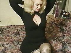 Big Boobs Blonde Granny Pornstar