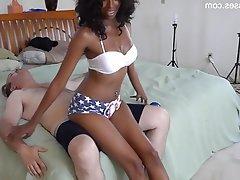 Amateur Babe Femdom Interracial