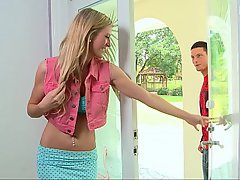 Teen Skinny Blowjob Blowjob