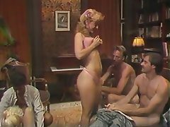 Blowjob Group Sex MILF Blonde Vintage