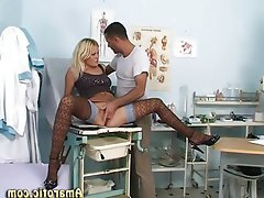 Blonde Medical Squirt Teen