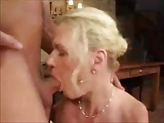 Anal Blonde German Mature MILF