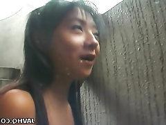 Asian Babe Blowjob Cumshot Masturbation