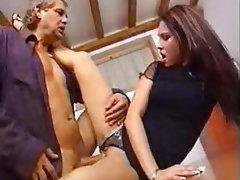 Blonde Italian Pornstar