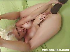 Anal Blonde Masturbation