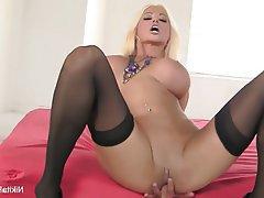 Big Boobs Blonde Masturbation MILF Pornstar