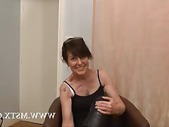 Amateur Brunette Casting French MILF