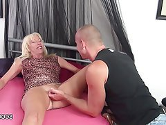 Cumshot, Granny, Hardcore, MILF, Old and Young