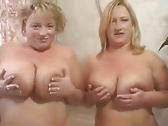 Big Boobs Blonde British Lesbian MILF