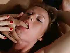 French Hairy Pornstar Threesome Vintage