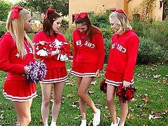 Babe, Cheerleader, Lesbian, Small Tits