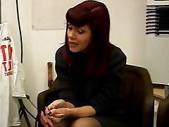 MILF Blowjob Redhead Pantyhose