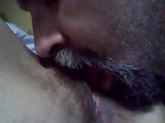 Amateur Cunnilingus Hairy MILF POV