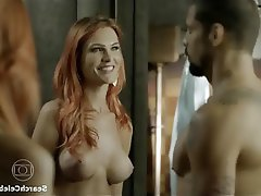 Celebrity Redhead Small Tits Threesome