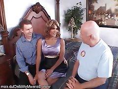 Anal Hardcore MILF Swinger Threesome