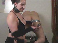 Anal BDSM Femdom Brunette Foot Fetish