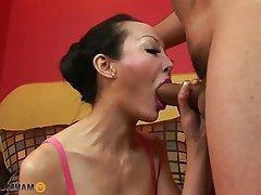 Anal Asian Big Boobs Brunette Mature