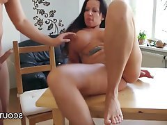 Big boobs milf fucked and seduces step