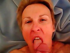 Amateur Blonde Blowjob Granny Old and Young