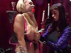 BDSM Lesbian Big Boobs Blonde Brunette