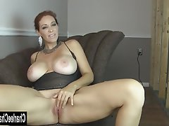 Big Boobs Brunette Masturbation Mature MILF