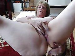 Amateur Anal Granny Masturbation Mature