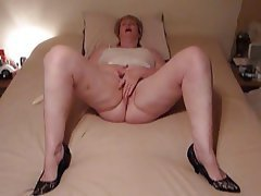 Amateur BBW Granny Masturbation Mature
