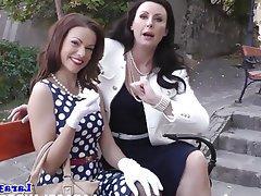 Lesbian Mature Spanking