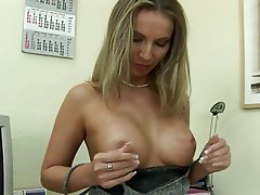 Big Boobs Blonde Masturbation MILF