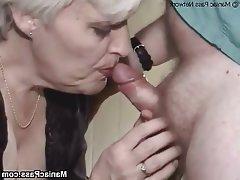 Facial Granny Hardcore Mature Stockings