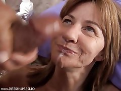 Amature sticky milf cum photos
