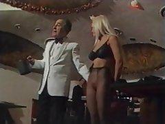 BDSM Blonde Lingerie Pantyhose