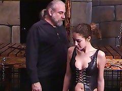 BDSM MILF Brunette Latex Lingerie