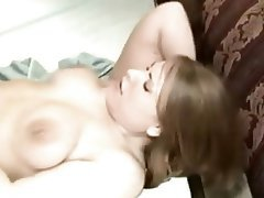 Amateur BBW Creampie Interracial