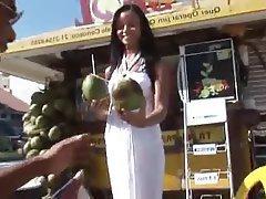 Babe Beach Brazil Brunette Hardcore