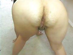 Amateur hairy anal milf