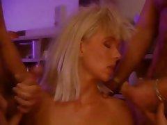 Double Penetration Group Sex MILF Pornstar Vintage