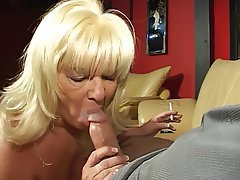 Blowjob, Facial, Blonde, Handjob