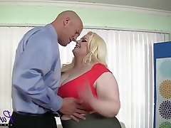 BBW Big Butts Blonde Lingerie