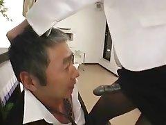 Asian Femdom Japanese Mature Strapon