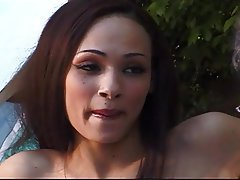 Cunnilingus MILF Old and Young Outdoor Skinny