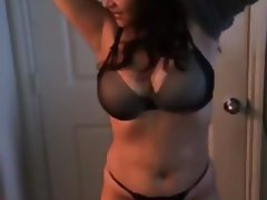 Amateur Big Boobs Brunette MILF