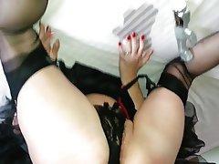pantyhose cumshot